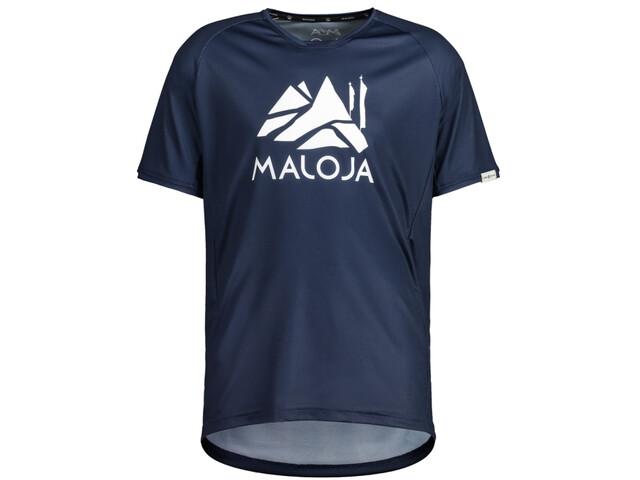 Maloja SanetschM. Multi 1/2 Multisport t-shirt Herrer, night sky